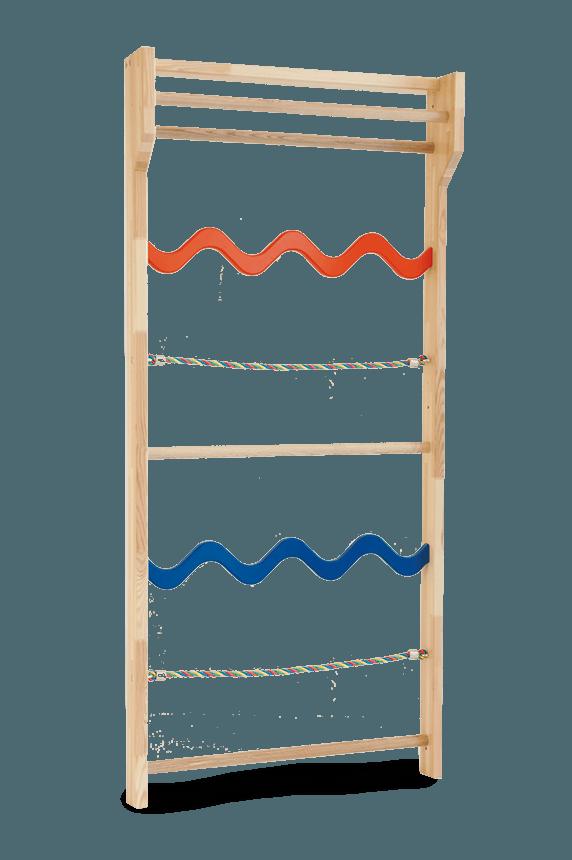 Einzelelement Sprossenwand Sprossenmix