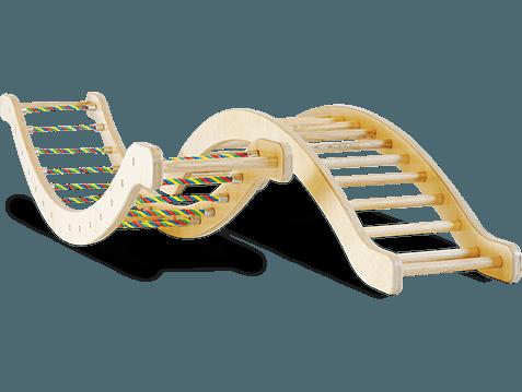 sportgeräte kletterwippe