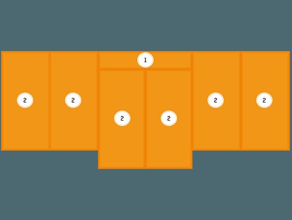 Mattenschutz für grosses Multiturnwand