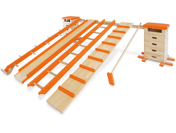 8-teilige Sprungkastenkombination